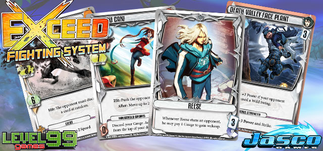 Level 99 Games announces Exceed Fighting System        Brawling Brothers     exceed card game