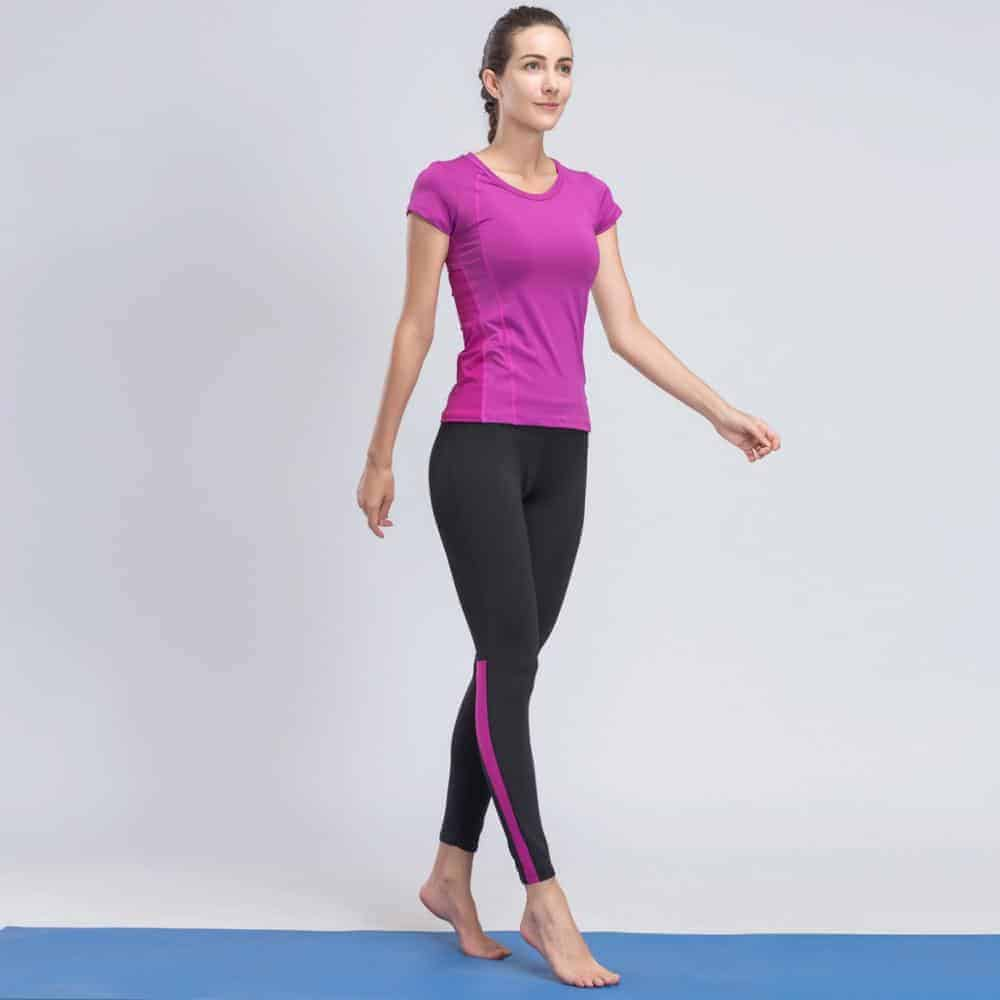 4df441aae0751 Yoga Sets | Women Gym Tracksuit Sport Set purple - Brawny Line