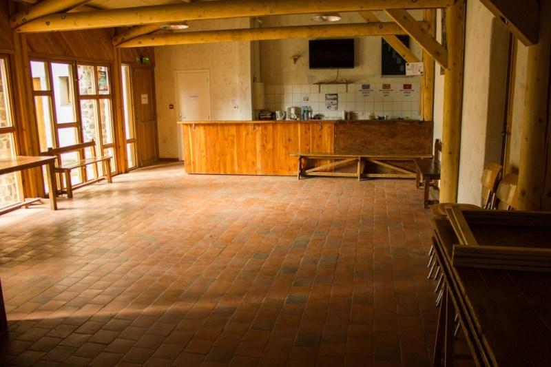 """L'appentis ou """"atelier de découverte"""", achevé avec la troisième phase des travaux en 2008."""