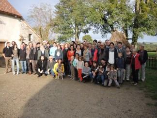 Photo de famille à Embraud