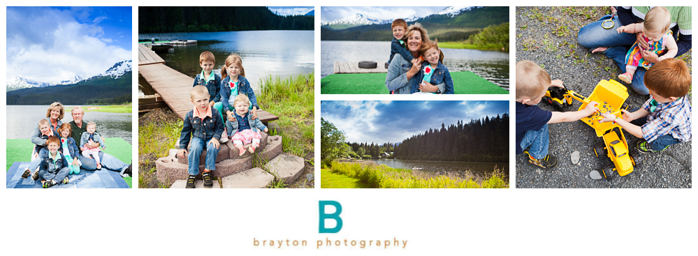 destination alaska traveling family photographer