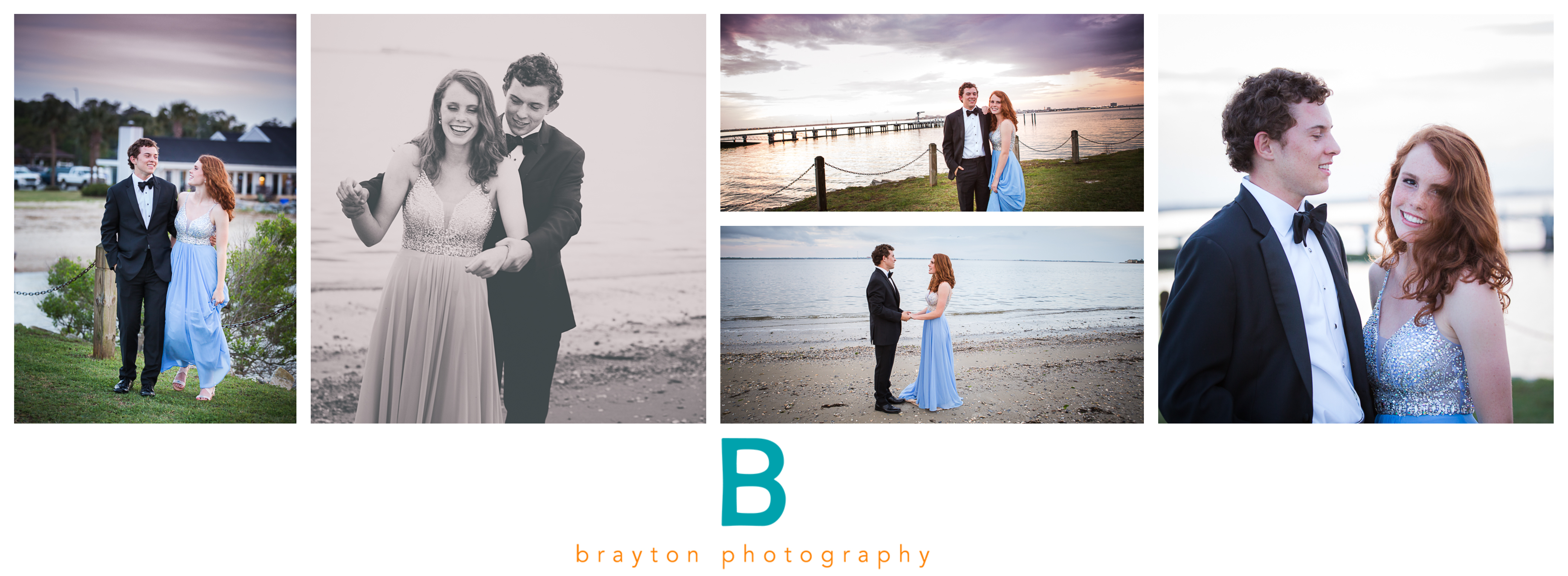 beach prom photography