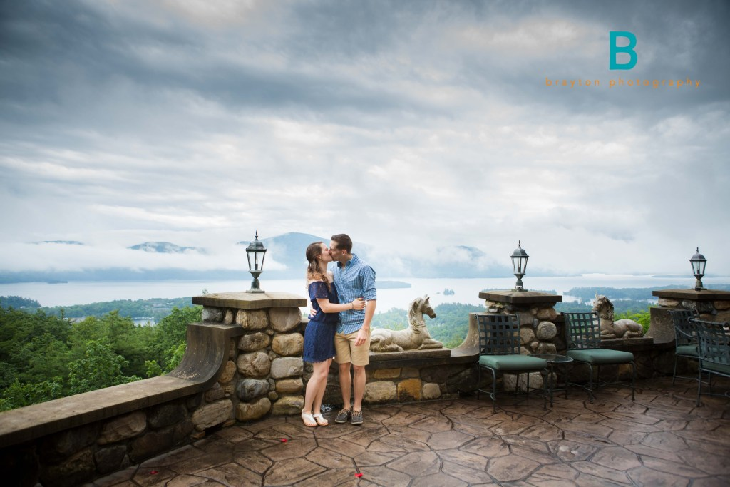 Surprise Engagement – Bolton Landing, NY