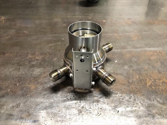 バルブユニット 溶接加工