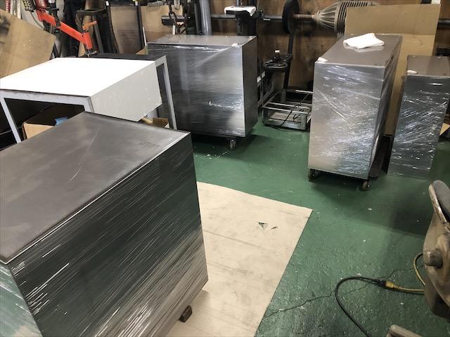 ステンレス製収納ボックス 製作