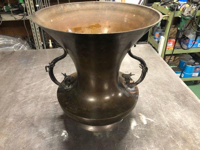 アンティーク花瓶 修理