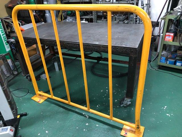 鉄製フェンス 修理