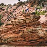 Topless Hoodoo. Zion National Park. Utah.