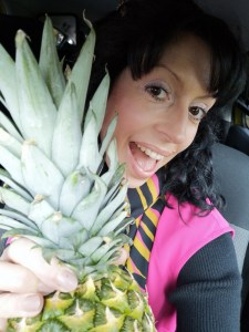 Autumn frolics pineapple