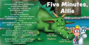 Five Minutes Alfie Blog Tour
