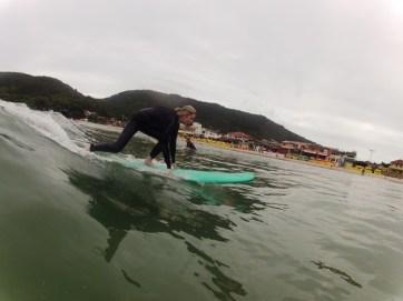 First lesson- Barra da Lagoa- Florianopolis