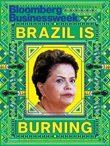 dilma burning