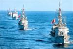 美艦日本海軍演後 移師沖繩海域