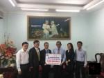 越南臺商總會捐贈丹瑞風災善款