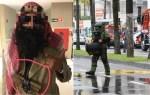 青年隨手亂丟狂歡節裝飾引來特警部隊