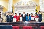 李鳳遷在馬里蘭州參議院 提交有關農曆新年決議案