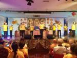 巴西佛光協會義工新春聯誼會為大眾獻燈祈福