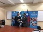 駐瓜地馬拉賴建中大使與瓜國衛生部長共同主持「瓜地馬拉運用醫療科技提升孕產婦與新生兒保健功能計畫」行動方案簽約儀式