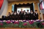印尼雅加達臺灣學校畢典 歌舞祝福畢業生