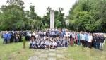 馬來西亞沙巴州根地咬卓還來領事暨二戰死難英雄紀念碑公祭典 尹新垣代表駐處致意