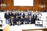 聖保羅慕義市議會頒發獎牌表揚慕義教會對慕義市的貢獻