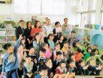 斯洛伐克代表 與左鎮學童共讀繪本
