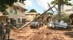 聖靈州暴雨 30多村落被孤立