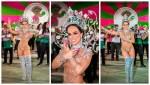 聖保羅桑巴女王裝飾配5萬顆水晶