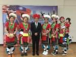 臺灣原住民婦女團 波城視訊獻舞交流