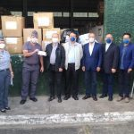 聖保羅華人和台灣人教會捐贈口罩給聖保羅州軍警展現愛人如己精神