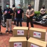 邁阿密臺商會 捐邁戴郡警察局6000片口罩