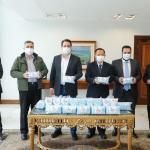 台灣援贈40萬個口罩給巴西巴拉那州增進雙邊密切友誼