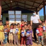 愛緬基金會與基督教救助協會關心緬甸幼兒 募集奶粉送偏鄉