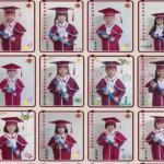幼華學園幼兒部舉行「第28屆大班畢業典禮」