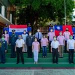 巴拉圭亞松森線上升旗慶元旦 簡單隆重