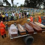 疫情悲劇 2020年巴西死亡人數達有史以來最高