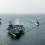 40架戰機護航,50艘軍艦開到美國家門口,公開向美下戰書