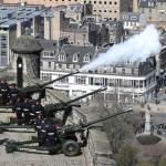 各地英軍施放禮砲 向已故菲立普親王致敬
