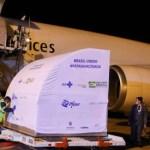 新冠死亡人數突破40萬之際 首批100萬劑輝瑞疫苗運抵巴西