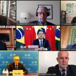 """""""中國治國理政經驗談""""線上研討會在巴西舉行"""
