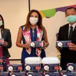 駐巴西代表處致贈臺灣口罩給巴西哥亞斯州政府