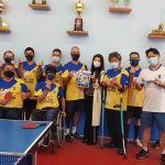 華僑志工小組受邀前往聖保羅軍警殘障乒乓球協會交流會議