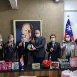 Taiwán Puede Ayudar基金捐贈玩具歡慶巴拉圭兒童節