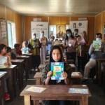 慈濟基金會約旦分會援助敘利亞難民村 設置簡易圖書室及捐贈書籍