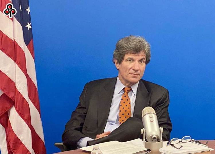 陸駐美國使館強烈譴責美國務院國務次卿費南德茲等高官見蕭美琴。