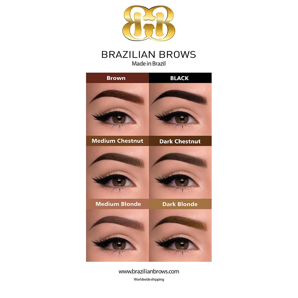 Poster brazilian brows A1