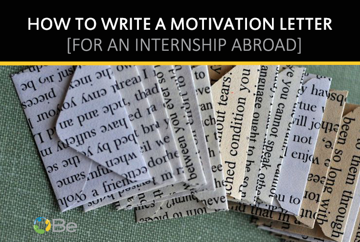 How to write a cover letter for an internship abroad   Brazilian     motivationletter