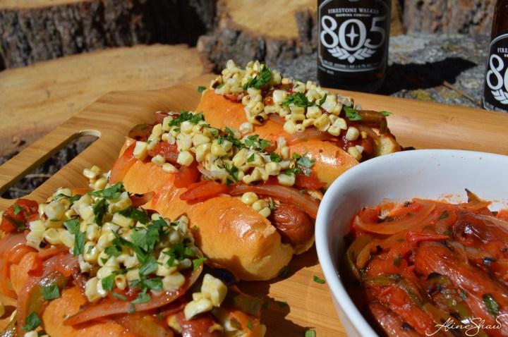 Loaded Street Hot Dogs