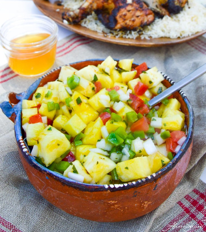Pineapple Salsa Vinaigrette Recipe