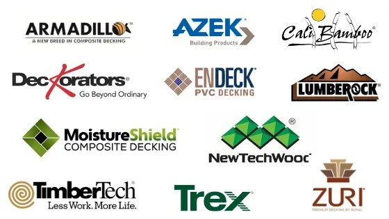 Brands of Composite Decking